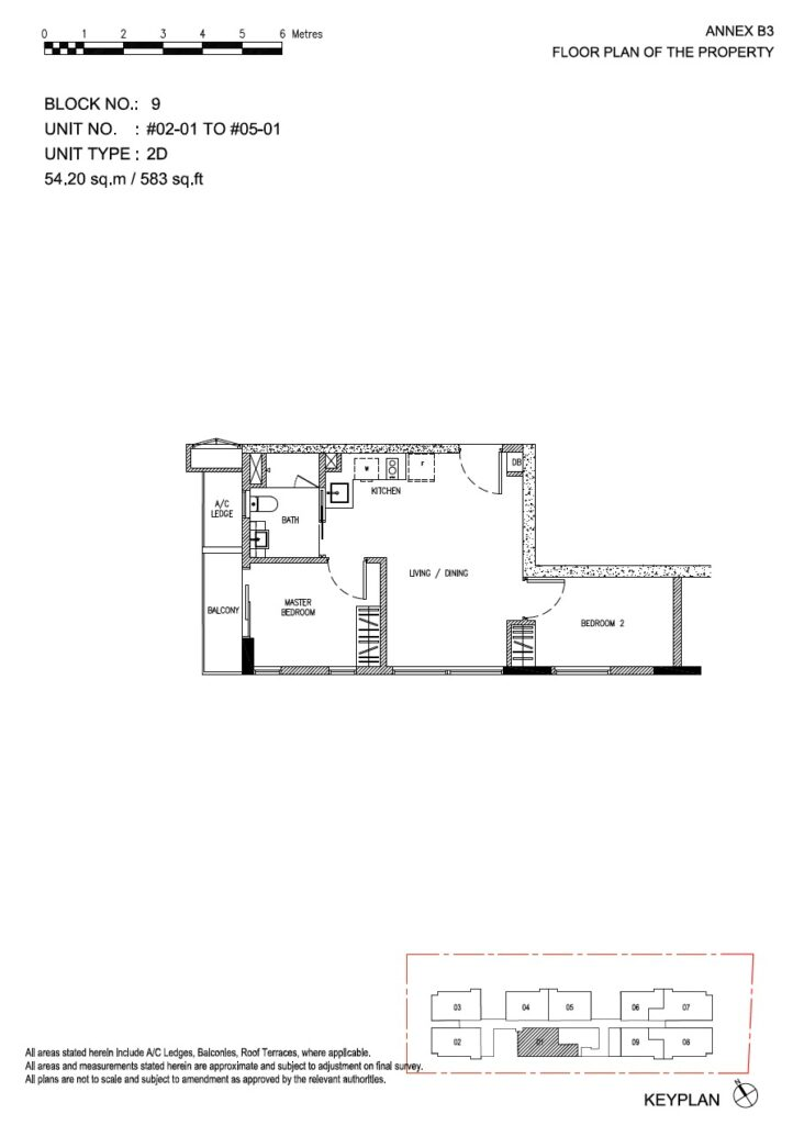 Roots at Transit - floor plan 2BR stack 01