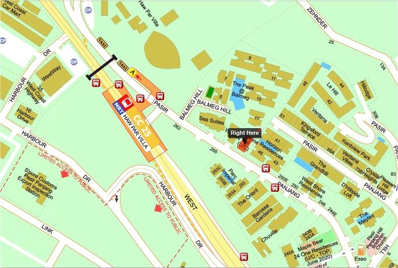 Sunstone Hill Location Map