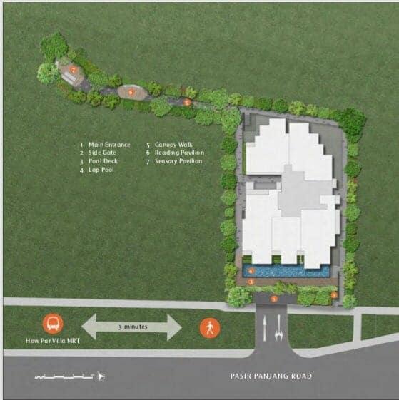 Sunstone Hill site plan