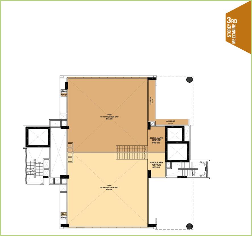 Citrine-foodland-floor plan-3rd floor mezzanine