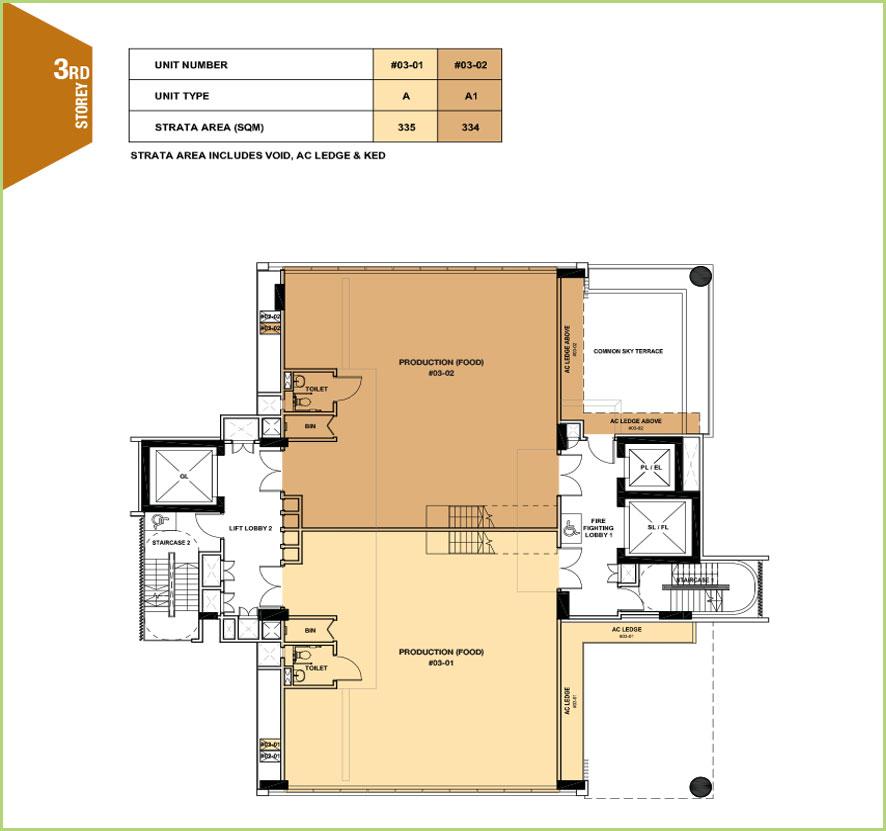 Citrine-foodland-floor plan-3rd floor