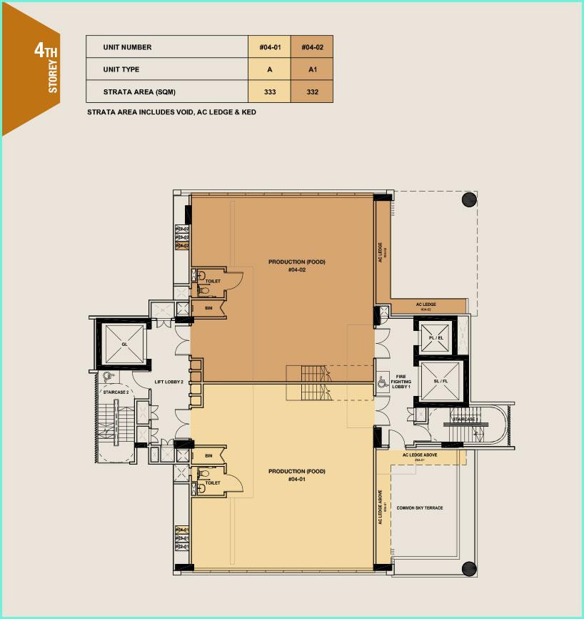 Citrine-foodland-floor plan-4th floor