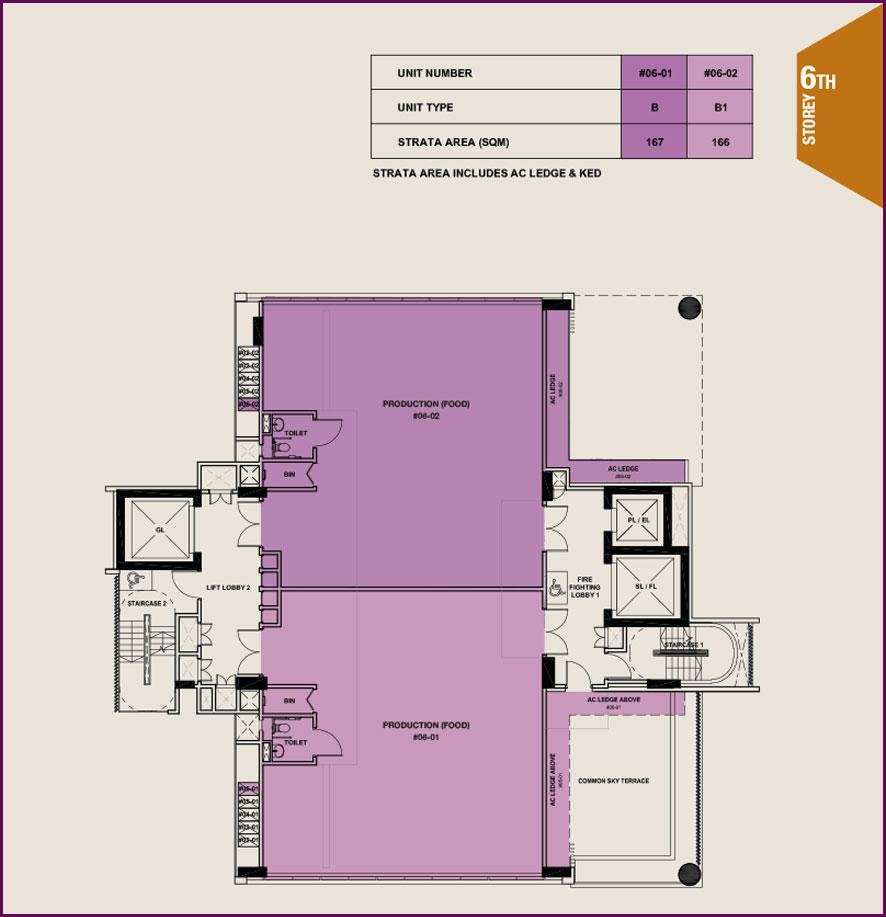Citrine-foodland-floor plan-6th floor