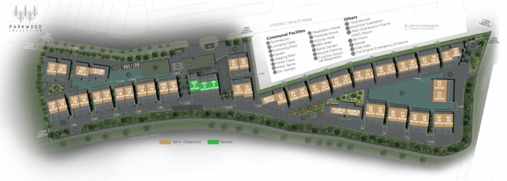 Parkwood Collection-Site Plan