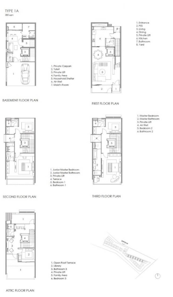 Parkwood Collection-floor plan type 1A