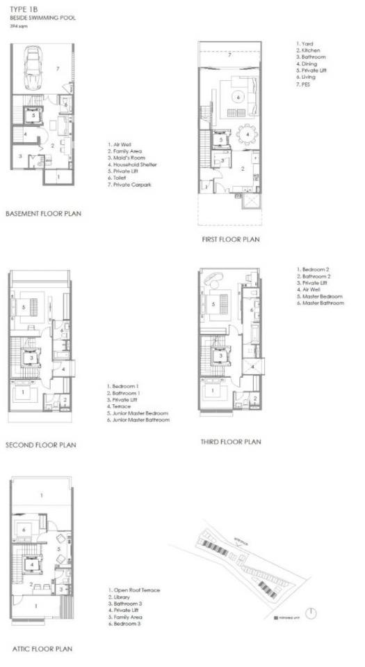 Parkwood Collection-floor plan type 1B