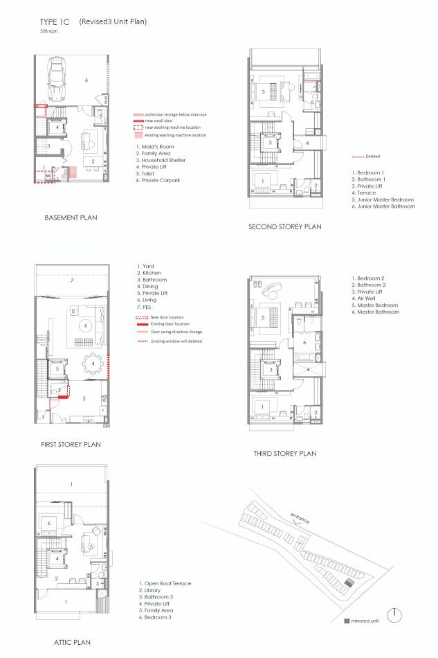 Parkwood Collection-floor plan type 1C