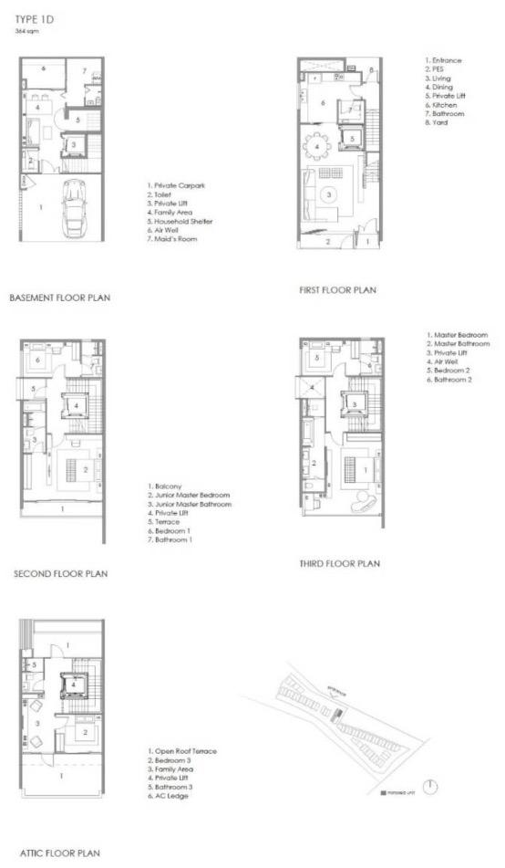 Parkwood Collection-floor plan type 1D
