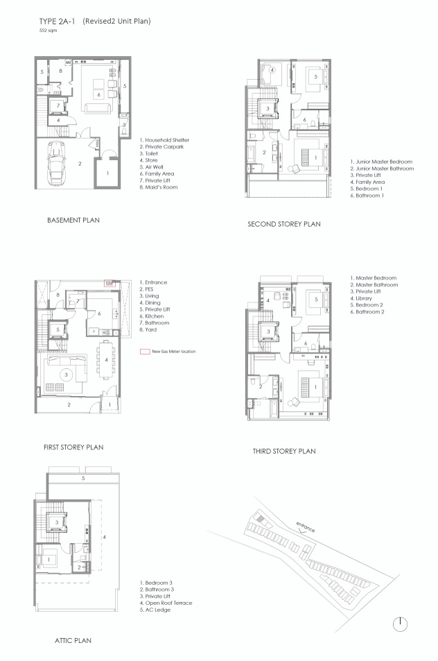 Parkwood Collection-floor plan type 2A-1